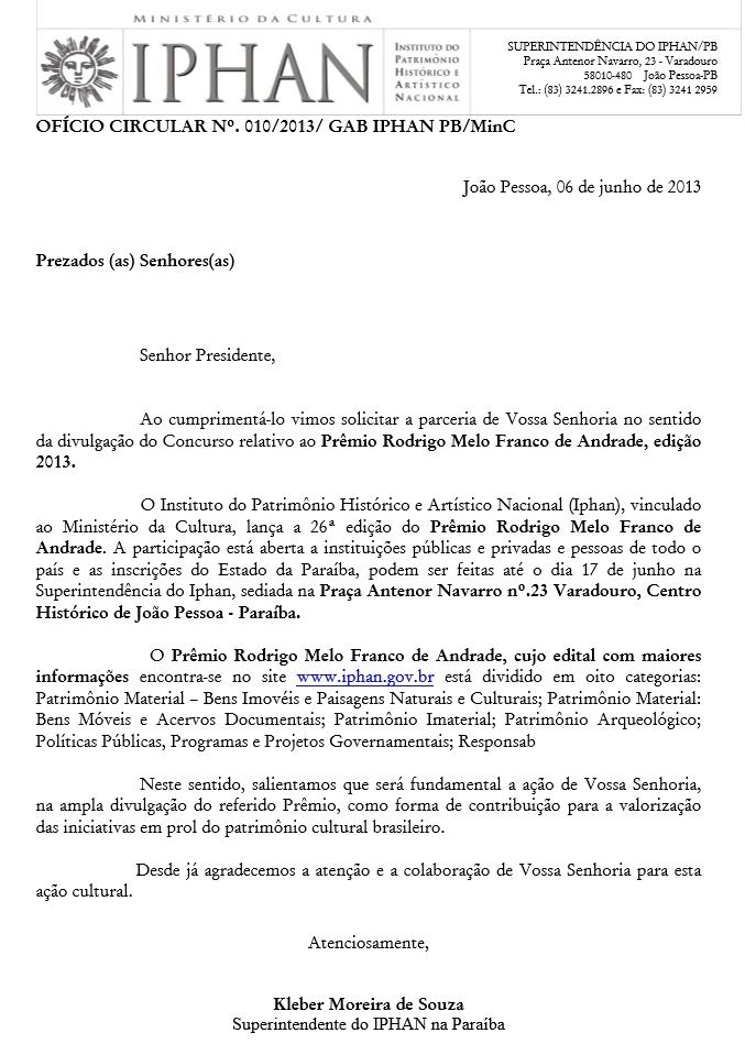 Prêmio IPHAN