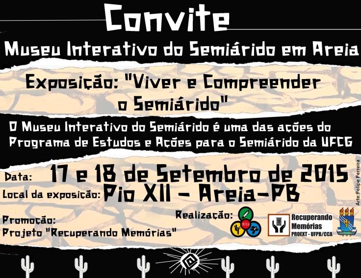 Museu interativo convite