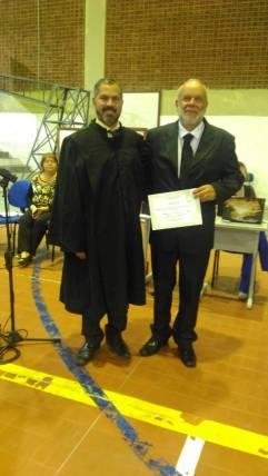 Prof. Manoel Bandeira e Américo Perazzo Neto